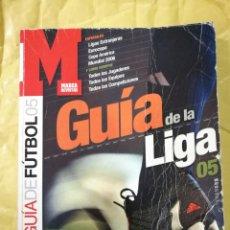Coleccionismo deportivo: MARCA GUÍA DE LA LIGA 2005. Lote 137264593