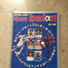 Coleccionismo deportivo: REVISTA EXTRA LIGA FÚTBOL DON BALON 97-98 NÚMERO 37 AÑO XXIII. Lote 127957039