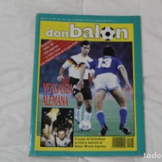 Coleccionismo deportivo: REVISTA DON BALÓN. Nº 768 ESPECIAL MUNDIAL DE FÚTBOL ITALIA '90. Lote 127998567