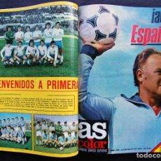 Coleccionismo deportivo: TOMO REVISTA AS COLOR. MUNDIAL ARGENTINA 78. MUY BUEN ESTADO. 18 NÚMEROS. CON TODOS LOS POSTERS. . Lote 128072539