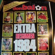 Coleccionismo deportivo: EXTRA DON BALÓN, RESUMEN 1984. TODOS LOS DEPORTES, 96 PÁGINAS. SUPERPOSTER. Lote 128139447