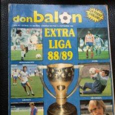 Coleccionismo deportivo: DON BALON EXTRA Nº 16 REVISTA DEPORTIVA FUTBOL, ESPECIAL EXTRA LIGA 88 - 89. Lote 128140495
