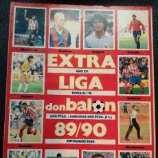 Coleccionismo deportivo: EXTRA DON BALON LIGA 89/90 - ESPECIAL GUIA LIGA FUTBOL TEMPORADA 1989/1990 Nº 18. Lote 128140683