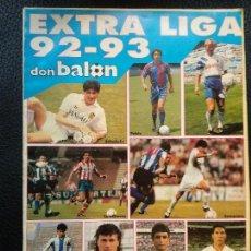 Coleccionismo deportivo: REVISTA DON BALÓN - EXTRA Nº 23 - EXTRA LIGA 92-93 - 1992 - 212 PÁGINAS. Lote 128141015