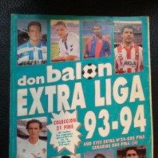 Collectionnisme sportif: REVISTA DON BALÓN EXTRA LIGA 93-94 1993/1994 1993 1994. Lote 128141111