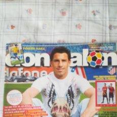 Coleccionismo deportivo: DON BALON NÚMERO 1755 MAXI, PÓSTER KAKA, RONALDO, SUPLEMENTO ESPECIAL COPA CONFEDERACIONES. Lote 128258122