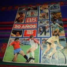 Coleccionismo deportivo: AS 20 AÑOS 1967 1987 Nº 97. 6-12-1987. 120 PÁGINAS. MUY ILUSTRADO. BUEN ESTADO.. Lote 128315811