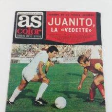 Coleccionismo deportivo: REVISTA AS COLOR NUMERO 325, 9 AGOSTO 1977, POSTER 317 BOXEO CARLOS MONZON, MOTOR, ZUVIRIA.. Lote 128562067