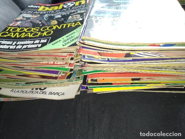 Coleccionismo deportivo: Don Balón lote de 209 ejemplares del n° 1,2,3,4,5...al n° 301 - Foto 2 - 128828091