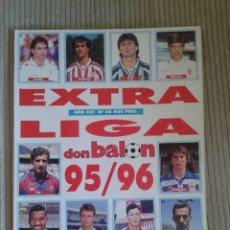 Coleccionismo deportivo: DON BALON. EXTRA LIGA 1995-1996. Lote 128881447