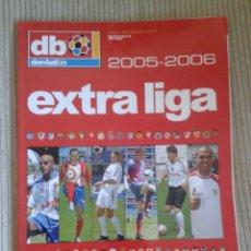 Coleccionismo deportivo: DON BALON. EXTRA LIGA 2005-2006. Lote 128881655