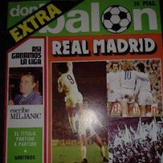 Coleccionismo deportivo: EXTRA DON BALON REAL MADRID CAMPEÓN DE LIGA 1975/76 . Lote 129040563
