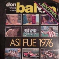 Coleccionismo deportivo: DON BALÓN :ASI FUE 1976 EXTRA. Lote 129040675