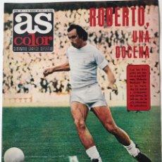 Collectionnisme sportif: REVISTA AS COLOR N° 198 (4-3-1975) - PÓSTER SPORTING DE GIJÓN (1974 - 75) - INDEPENDIENTE AVELLANEDA. Lote 172217420