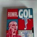 Coleccionismo deportivo: RONALDO-VIDEO VHS-EXCLUSIVO-RONALGOLEDICION DEL 1997 ORIGINAL. Lote 129149195