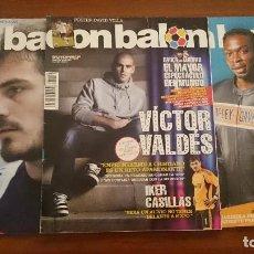 Coleccionismo deportivo: LOTE REVISTAS DON BALÓN. 2009. Lote 129466391