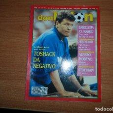 Coleccionismo deportivo: DON BALON Nº 835 STOICHKOV SUPERCOPA BARCELONA VS ATLETICO MADRID MANCHESTER UNITED. Lote 129506591
