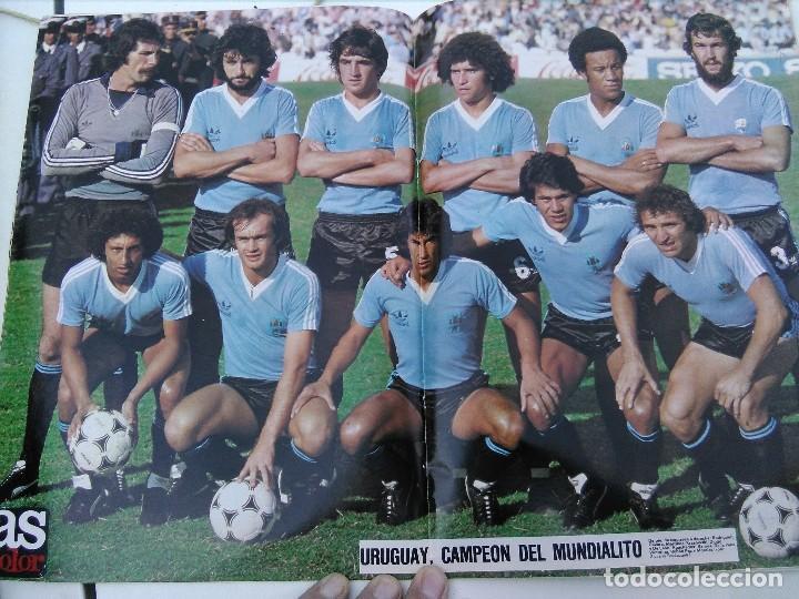 Coleccionismo deportivo: As color 1981 Juanito - Foto 2 - 129716791