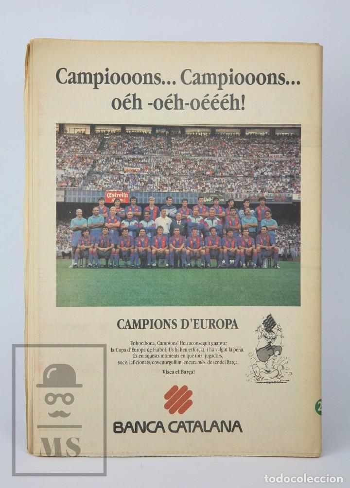 Coleccionismo deportivo: Diario Sport en Catalán - Fútbol Club Barcelona / Barça - Campeones / Campions Europa - Año 1992 - Foto 9 - 129964651