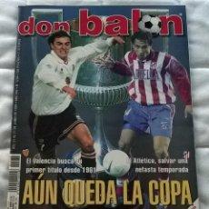 Coleccionismo deportivo: REVISTA DON BALON Nº 1236 - 21 27 JUNIO 1999 - FINAL COPA REY - POSTER BARCELONA - LEER ESTADO. Lote 130043043