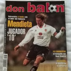 Coleccionismo deportivo: REVISTA DON BALON Nº 1268 - 31 ENERO 6 FEBRERO 2000 - MENDIETA - POSTER SEVILLA - LEER ESTADO. Lote 130051775