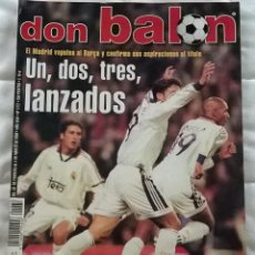 Coleccionismo deportivo: REVISTA DON BALON Nº 1272 - 28 FEBRERO 5 MARZO 2000 - REAL MADRID LANZADOS POSTER KIKO - LEER ESTADO. Lote 130052671