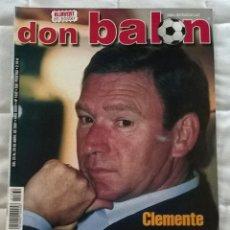Coleccionismo deportivo: REVISTA DON BALON Nº 1332 - 23 29 ABRIL 2001 - CLEMENTE - POSTER KLUIVERT - LEER ESTADO. Lote 130073975