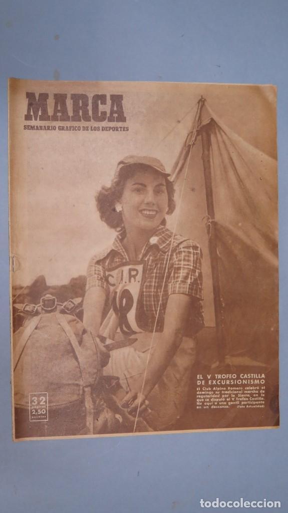 MARCA. 20 JUNIO 1950. 331 (Coleccionismo Deportivo - Revistas y Periódicos - Marca)