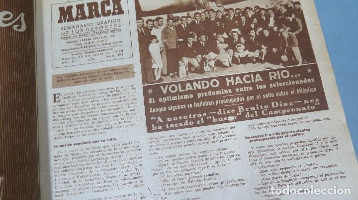 Coleccionismo deportivo: MARCA. 20 JUNIO 1950. 331 - Foto 2 - 130130835