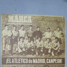 Coleccionismo deportivo: MARCA ATLETICO DE MADRID CAMPEON LIGA 49/50. 20 JUNIO 1950. 394. Lote 130131063