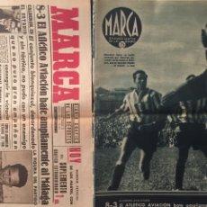 Coleccionismo deportivo: MARCA.4/5/1943.COPA. AT.AVIACION GRANADA BARCELONA BARACALDO BILBAO. CANDANCHU. Lote 130146154