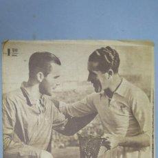 Coleccionismo deportivo: MARCA. EL REAL MADRID INAUGURA SU CAMPO. BERNABEU. 16 DICIEMBRE 1947. 263. Lote 130150939