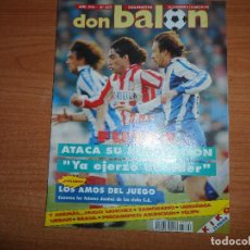 Coleccionismo deportivo: DON BALON 852 FUTRE ATLETICO ESPAÑA VS CEI LARRAÑAGA REAL SOCIEDAD POSTER KIKO BOTAFOGO FLAMENGO. Lote 130202183