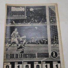 Coleccionismo deportivo: EL MUNDO DEPORTIVO LUNES 30-10- 1967- F.C. BARCELONA-ESPAÑOL-BOXEO JOE LOUIS. Lote 130353270