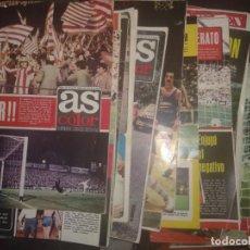 Coleccionismo deportivo: LOTE 62 NÚMEROS DEL N° 101 AL N° 200 REVISTA AS COLOR 1973 1974. Lote 130379274