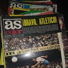 Coleccionismo deportivo: LOTE DE 56 NÚMEROS DEL N° 263 AL N° 503 REVISTA AS COLOR. Lote 130411490