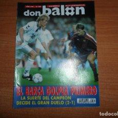 Collezionismo sportivo: DON BALON Nº 880 FUTBOL VERANO BERNABEU CIUDAD BARCELONA VS REAL MADRID . Lote 130515666