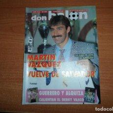 Coleccionismo deportivo: DON BALON Nº 885 POSTER BALINT BURGOS ALBACETE CSKA MOSCU TRABZONSPOR B K FREM . Lote 130518686