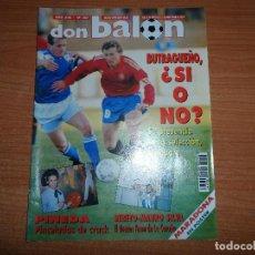 Coleccionismo deportivo: DON BALON 887 POSTER MARADONA COPA EUROPA BARCELONA VS CSKA BARCELONA RECOPA ATLETICO MADRID VS TRAB. Lote 130519814