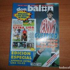 Coleccionismo deportivo: DON BALON 890 POSTER BARCELONA CAMPEON SUPERCOPA 1992 APENDICE EXTRA LIGA 92 93 VITESSE BORUSSIA. Lote 130521186