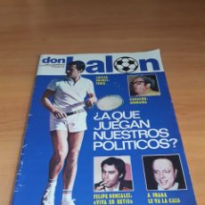 Coleccionismo deportivo: DON BALÓN. N° 63. 14/12/1976. SIN POSTER.. Lote 130794311