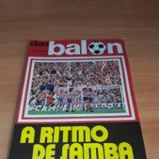 Coleccionismo deportivo: DON BALÓN. N° 15. 13/01/1976. SIN POSTER.. Lote 130794647