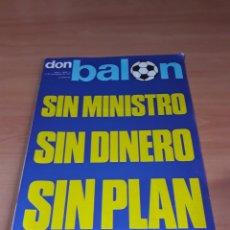 Coleccionismo deportivo: DON BALÓN. N° 11. 16/12/1975. SIN POSTER.. Lote 130795293