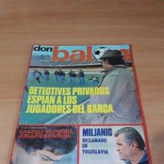 Coleccionismo deportivo: DON BALÓN. N° 9. 2/12/1975. SIN POSTER.. Lote 130796196