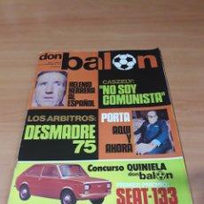 Coleccionismo deportivo: DON BALÓN. N° 8. 25/11/1975. SIN POSTER.. Lote 130796479