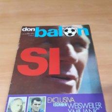 Coleccionismo deportivo: DON BALÓN. N° 7. 18/11/1975. CON POSTER.. Lote 130796703