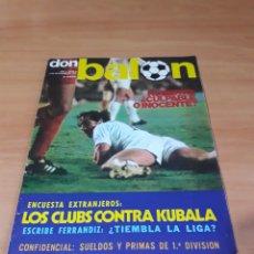 Coleccionismo deportivo: DON BALÓN. N° 5. 4/11/1975. SIN POSTER.. Lote 130796888