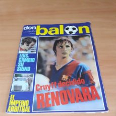 Coleccionismo deportivo: DON BALÓN. N° 3. 21/10/1975. CON POSTER.. Lote 130797357
