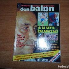 Coleccionismo deportivo: DON BALON 903 SUPERCOPA EUROPA BARCELONA VS WERDER BREMEN POSTER CADIZ MIJATOVIC SERBIA. Lote 130843696