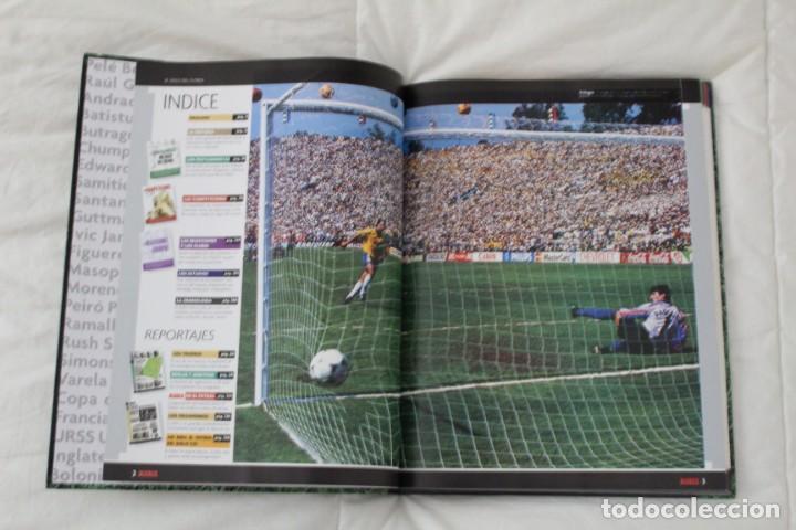 Coleccionismo deportivo: DIARIO MARCA. LIBRO ÁLBUM EL SIGLO DEL FÚTBOL 1999 - Foto 2 - 130896168